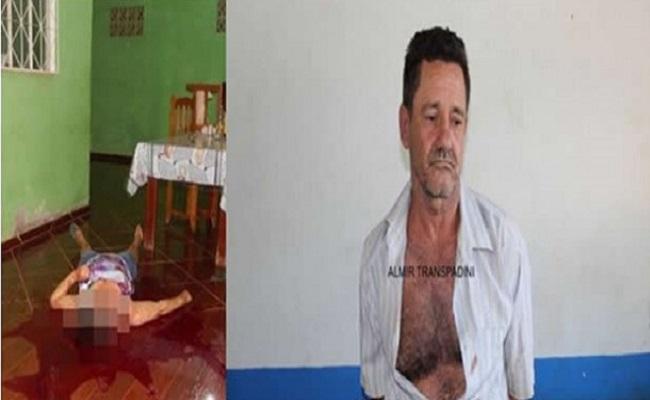 Marido mata a esposa degolada por causa de ciúmes