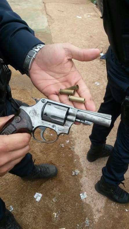 Arma utilizada pela jovem