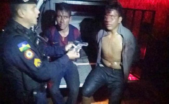 Dupla é presa acusada tortura e amordaçar família de PM durante roubo