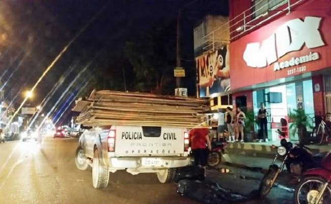 Polícia Civil faz apreensões de materiais piratas na Jatuarana