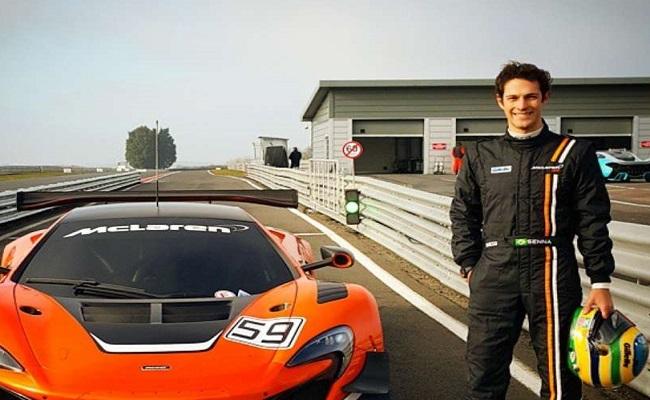 Bruno Senna não sumiu: vai ser piloto de fábrica da McLaren