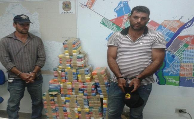 PF apreende 172 quilos de cocaína com apoio da COE