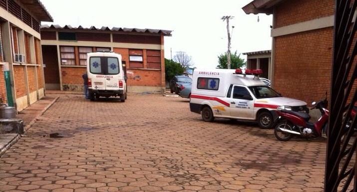Por falta de motoristas, ambulâncias ficam paradas em hospital de Pimenta Bueno