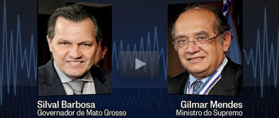PF intercepta ligação de Gilmar Mendes para investigado no STF