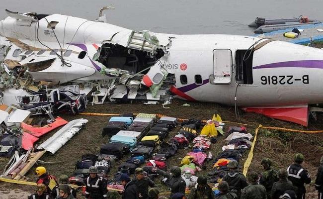 Piloto é aclamado como herói por desviar de prédios em Taiwan