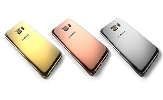 Galaxy S6 e S6 Edge ganham versão de luxo banhadas em ouro e platina