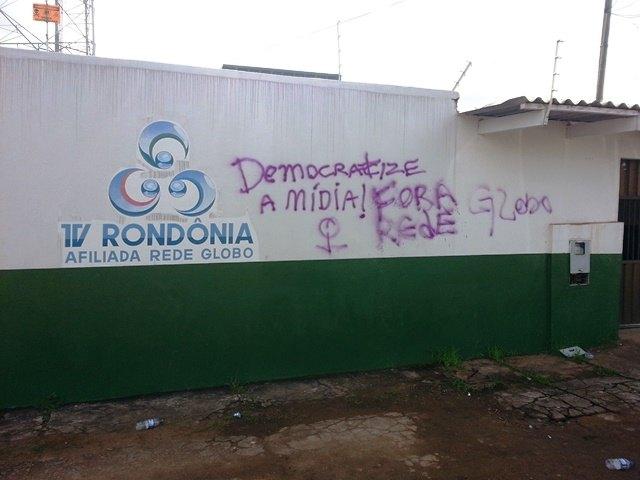 TV Rondônia Pichada 1