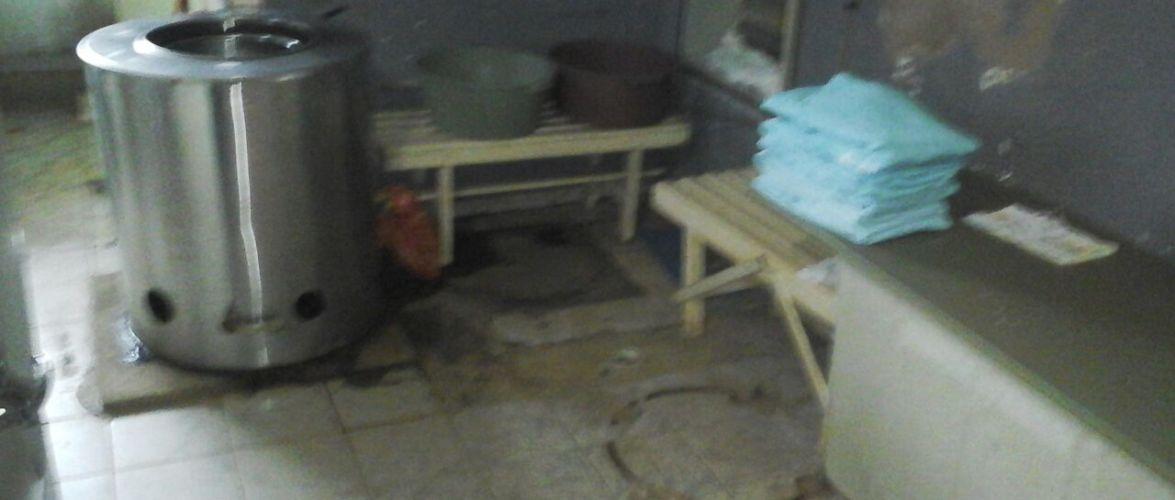 Hospital de Machadinho está lavando roupas com produtos domésticos
