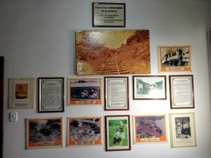 História de Rondônia é contada nas paredes do Memorial.