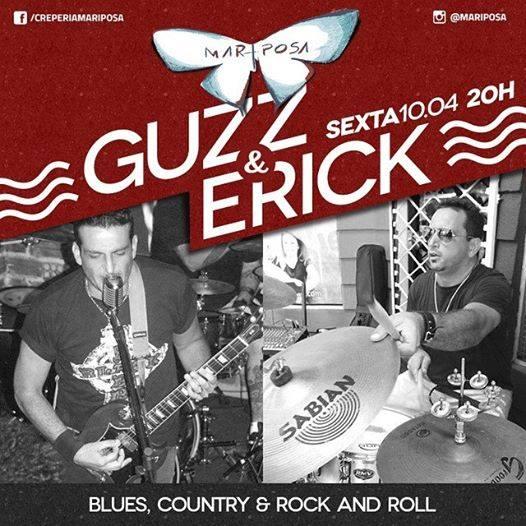 Sábado com Gustavo Erse e Erick Bennesby a partir das 20:00h no Mariposa!