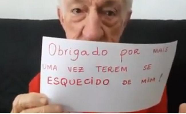 """Russo posta vídeo sobre a Globo,""""Obrigado por mais uma vez terem se esquecido de mim"""""""