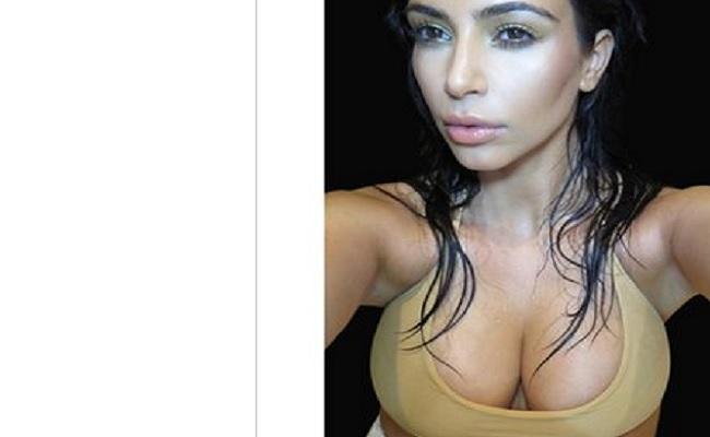 Livro de selfies de Kim Kardashian entra para lista dos mais vendidos