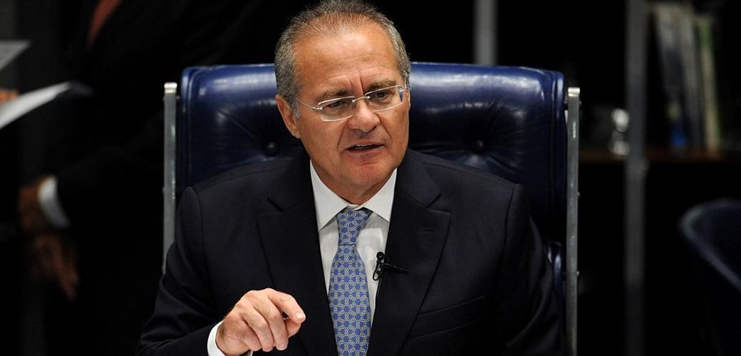 Renan coloca 'panos quentes' na divisão do PMDB no Senado