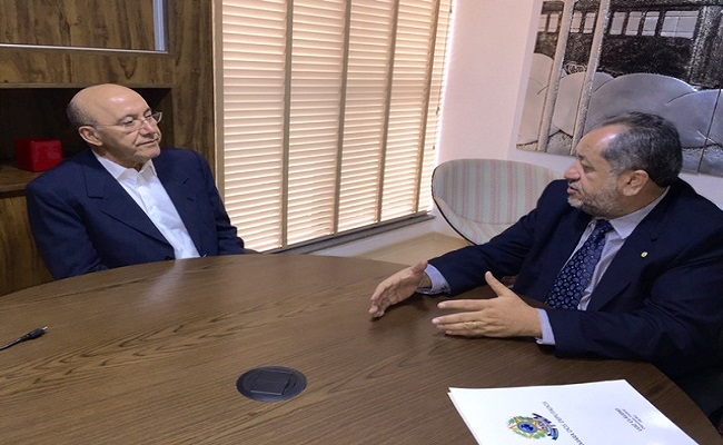 Luiz Cláudio apresenta proposta ao governador Confúcio Moura para o desenvolvimento de Rondônia