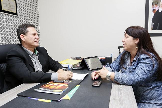 Maurão solicita série de serviços para Nova Brasilândia