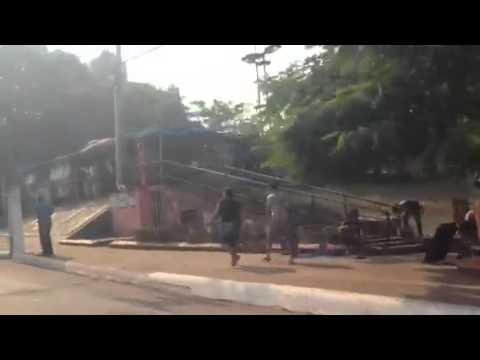 Ambulantes tomam praças e ruas da região central de Porto Velho