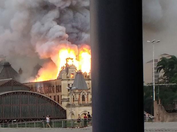 Morre bombeiro que trabalhava no Museu da Língua Portuguesa, em SP