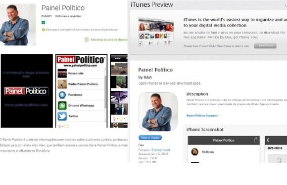 PAINEL POLÍTICO lança app nas lojas da Apple e Google Play