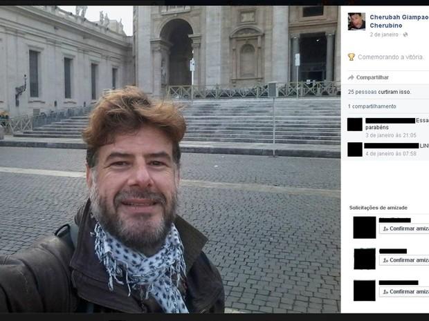 Brasileiro detido nu no Vaticano está em hospital psiquiátrico, diz irmão