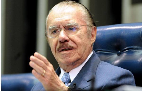 Sarney propõe, em gravação, ajudar ex-presidente da Transpetro
