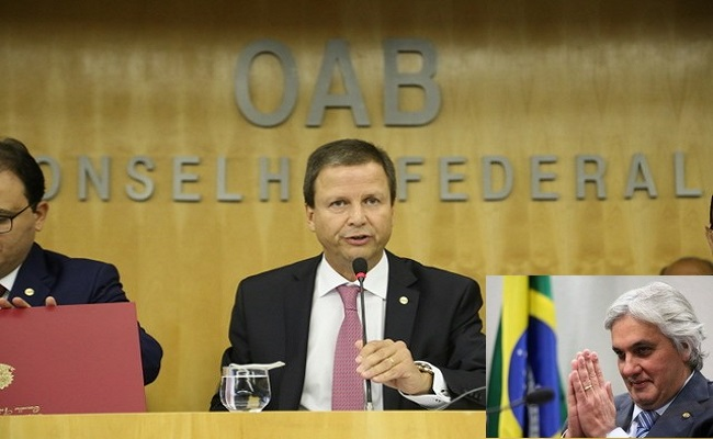 """Ao Jota, presidente da OAB diz que """"praticamente todos os partidos"""" têm problemas de corrupção"""