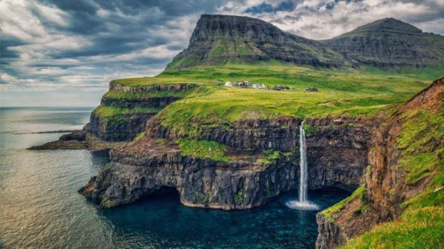 Vila Gasadalur - Ilha Vagar, Ilhas Faroé