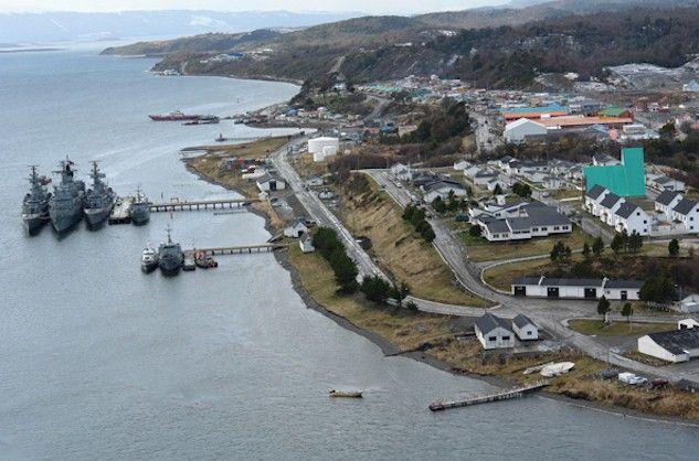Puerto Williams tem 2.200 habitantes
