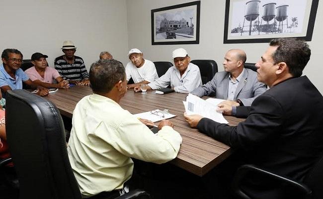 Ferroviários pedem apoio do presidente da Assembleia para revitalizar a EFMM