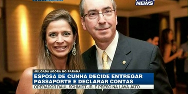 Filha e mulher de Eduardo Cunha temem ser presas nos próximos dias