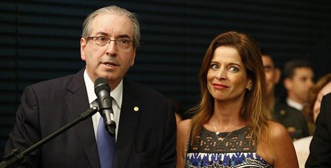 Cláudia Cruz, esposa de Cunha, se torna ré por lavagem de dinheiro de mais de US$ 1 milhão