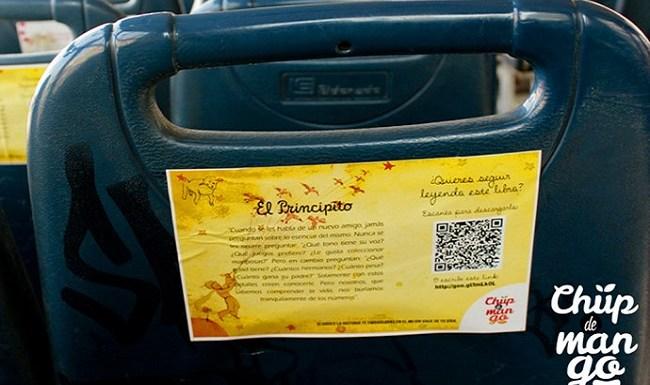 Projeto oferece leitura de livros pelo celular em ônibus no Peru
