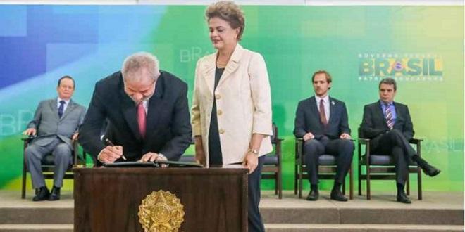 Lula pede que STF reconheça que ele foi ministro de Dilma