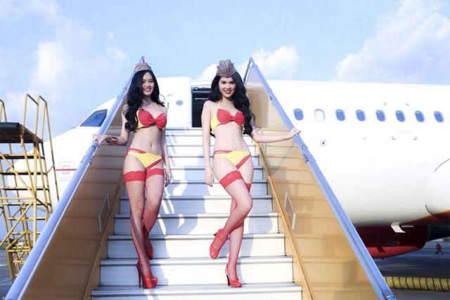 Aeromoças da VietJet Air