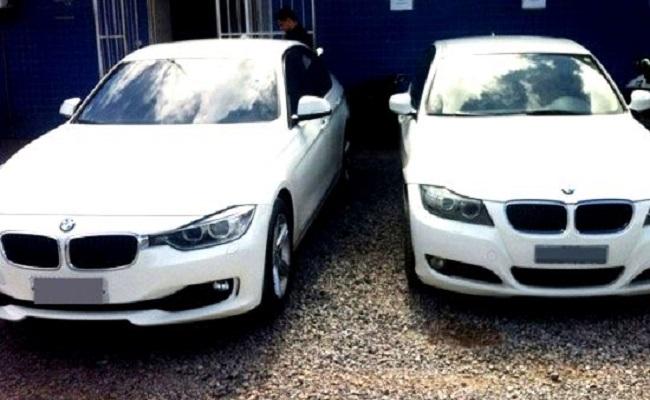 Policiais de MT e Rondônia desarticulam quadrilha de receptadores; BMWs são apreendidas