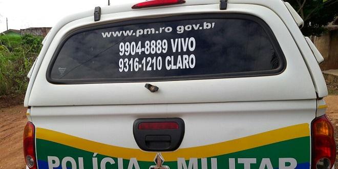 População de Mirante da Serra socorre PM que está em situação de penúria