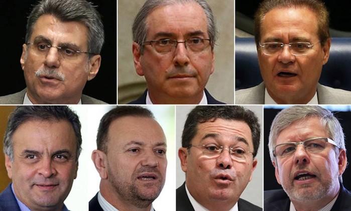 Janot pede ao STF autorização para investigar Raupp, Aécio, Edinho, ministro do TCU e cúpula do PMDB