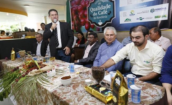 Maurão de Carvalho prestigia lançamento do concurso de Qualidade do  Café