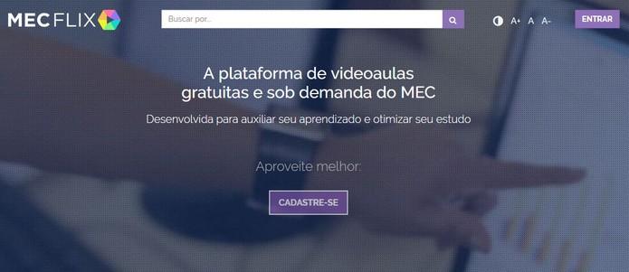 O que é e como funciona o MecFlix, o Netflix do governo brasileiro para estudantes