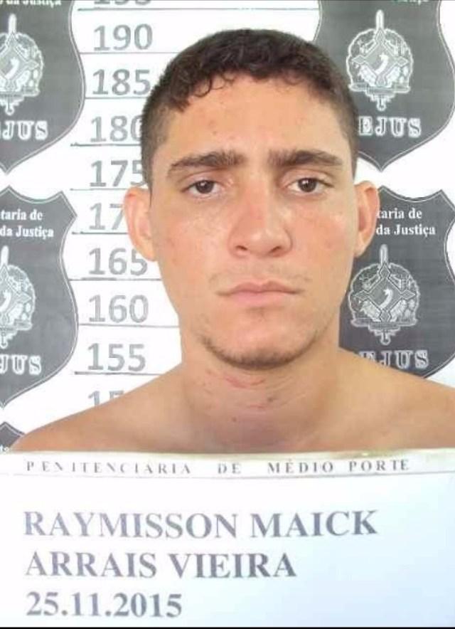 Raymisson foi apontado como autor do crime e está sendo procurado