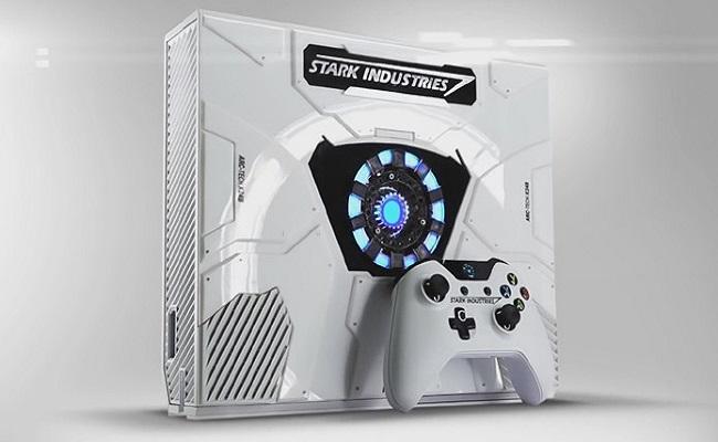 Xbox One ganha versão especial do Homem de Ferro de Guerra Civil