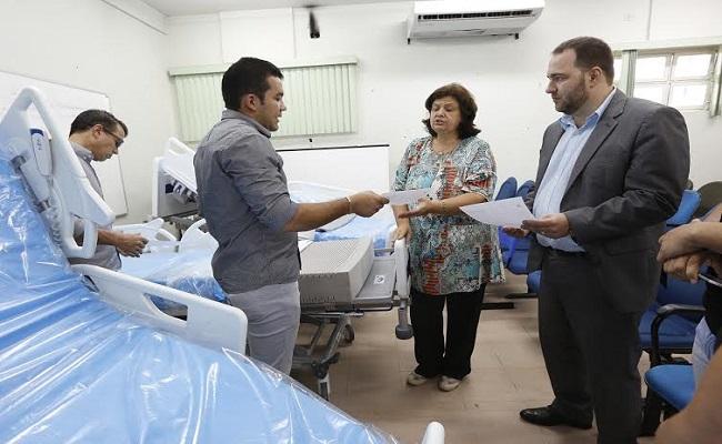 Redano faz doação particular de leitos elétricos de UTI para o Cemetron