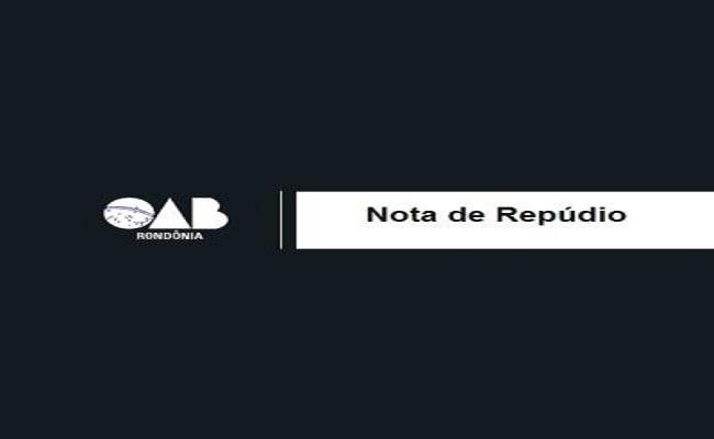 OAB/RO repudia ato de violência contra advogado