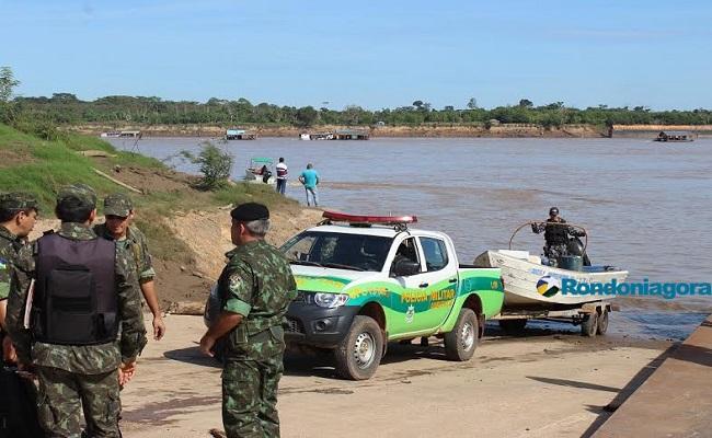 Operação no Rio Madeira prende seis pessoas por garimpagem ilegal