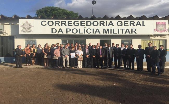 OAB suspende sessão do Conselho para comparecer à Corregedoria da Polícia Militar