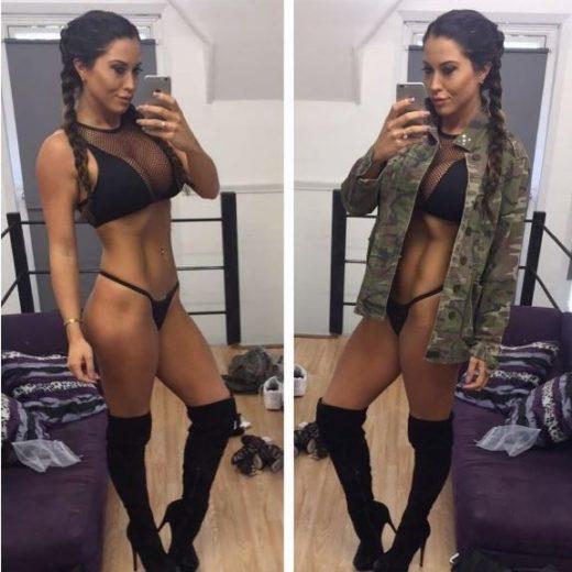 Jacqui faz selfie para postagem em rede social | Reprodução/Instagram(@JACQUI.RYLAND)