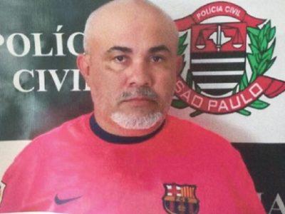 Ronildo Borges de Souza preso por abusar sexualmente e manter garotos em cárcere privado (Foto: Reprodução)