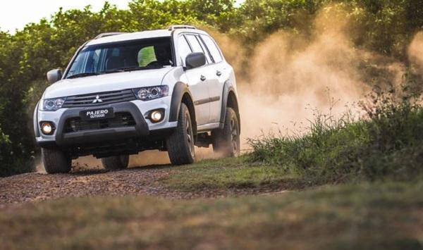 Mitsubishi lança Pajero Outdoor, uma versão de ponta e mais barata