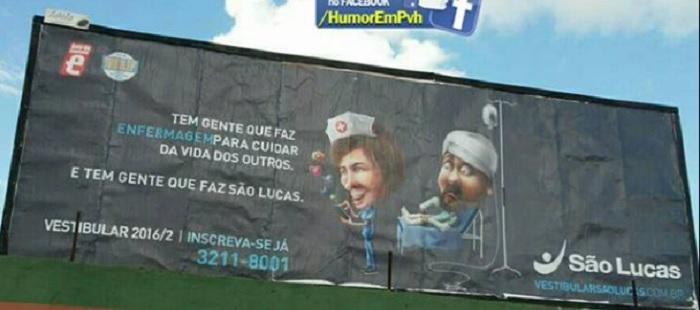 Campanha publicitária da São Lucas é alvo de repúdio por parte de Conselho