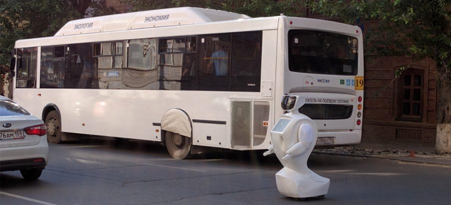 Robô foge de laboratório e causa caos no trânsito; assista