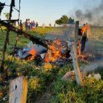 Ultraleve caiu no distrito de Nova Londrina região do município de Ji-Paraná em Rondônia